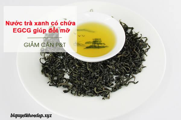 nước-trà-xanh-giúp-giảm-mỡ-bụng-hiệu-quả