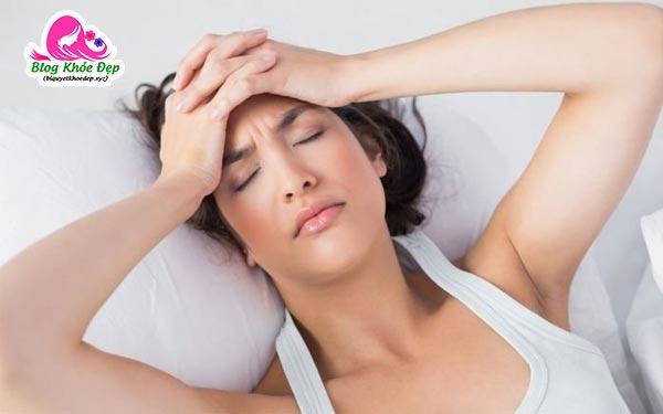 Uống thuốc giảm cân bị mất ngủ