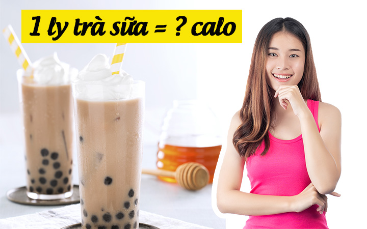 1 ly trà sữa bao nhiêu calo