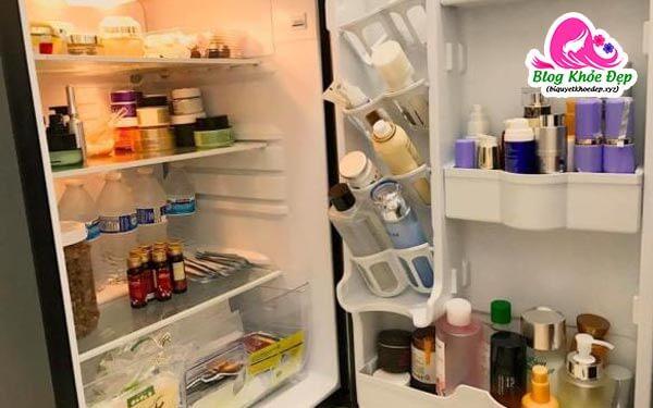 Bảo quản serum vitamin C trong tủ lạnh