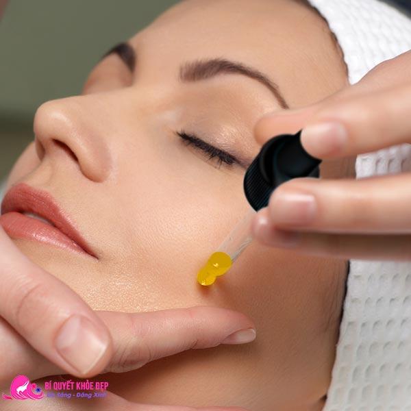 Cách sử dụng serum vitamin c chăm sóc da