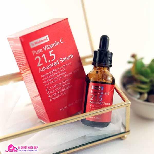 Review serum vitamin C 21.5
