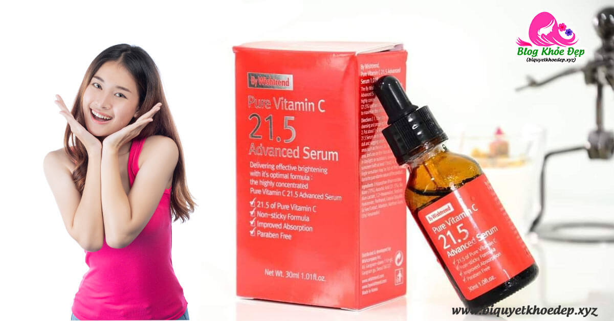 Review serum vitamin C 21.5 có tốt không