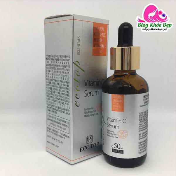 Review serum vitamin C Ecotop