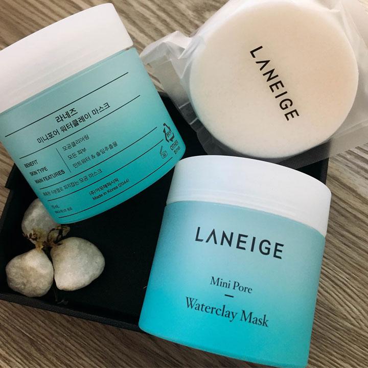 Sản phẩm se khít lỗ chân lông Laneige Mini Pore Waterclay Mask