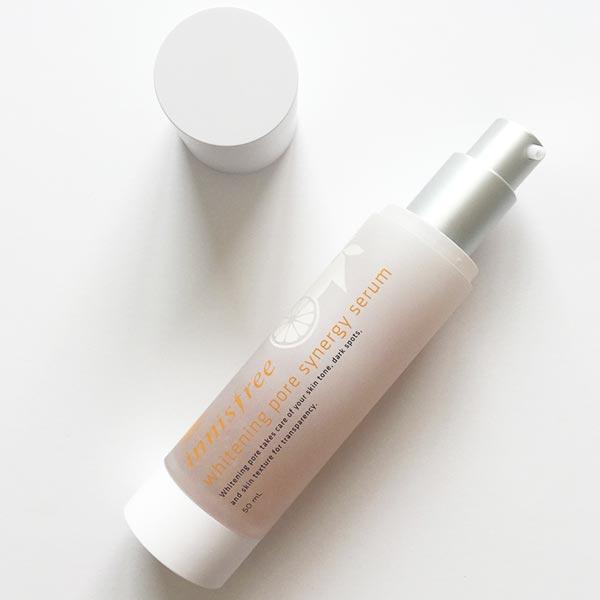Tinh chất se khít lỗ chân lông Innisfree Whitening Pore Synergy Serum