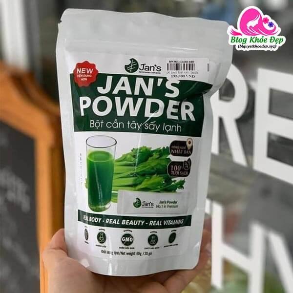 Bột cần tây sấy lạnh Jan's Powder