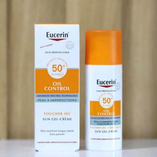 Kem chống nắng cho da dầu Eucerin
