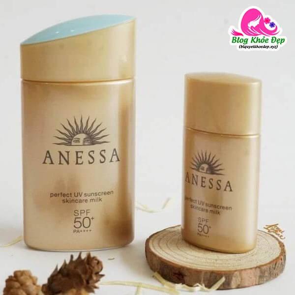 Kem chống nắng cho da dầu mụn Anessa