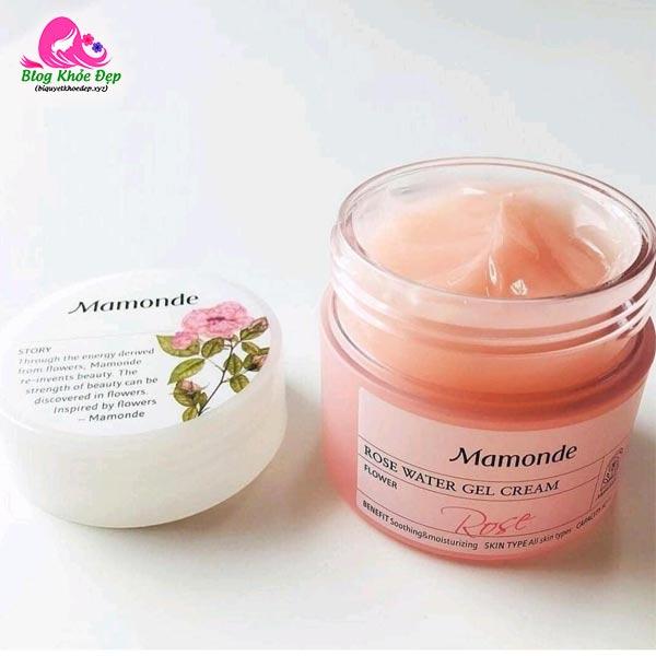 Kem dưỡng ẩm cho da dầu Mamonde Rose