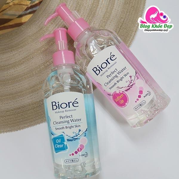 Nước tẩy trang Biore