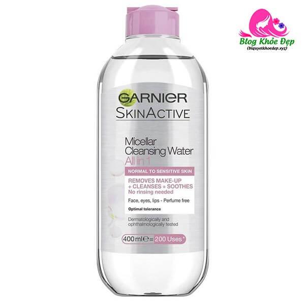 Nước tẩy trang Garnier Skinactive