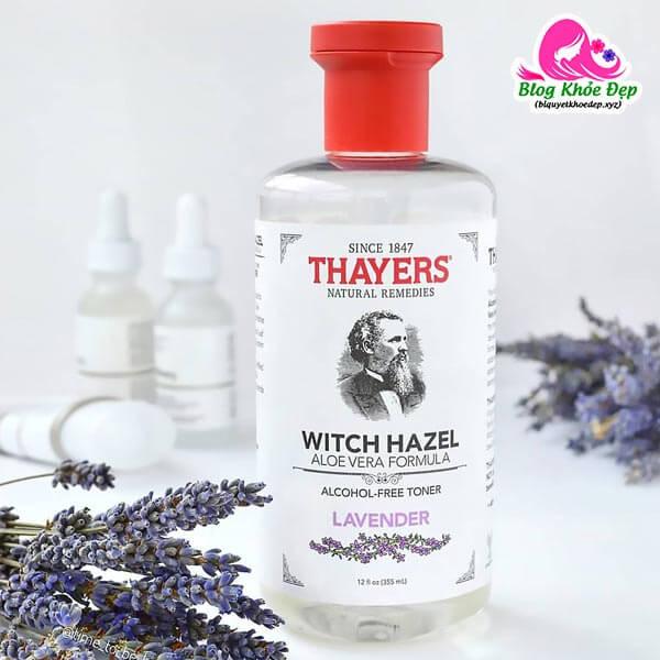 Toner cho da dầu mụn Thayer Alcohol Free Lavender