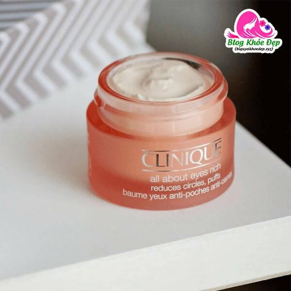 Review Kem dưỡng ẩm mắt Clinique