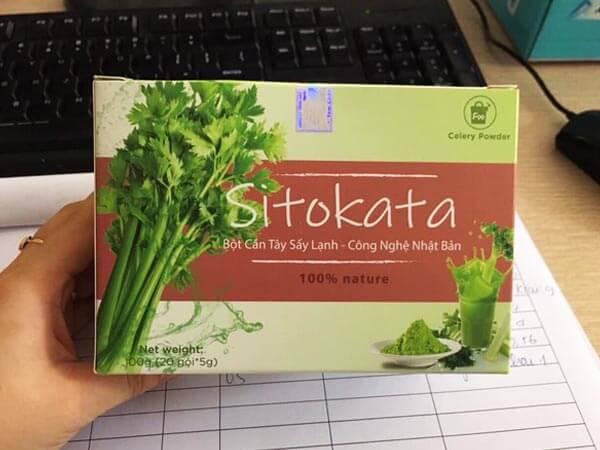 Bột cần tây sấy lạnh Sitokata Review