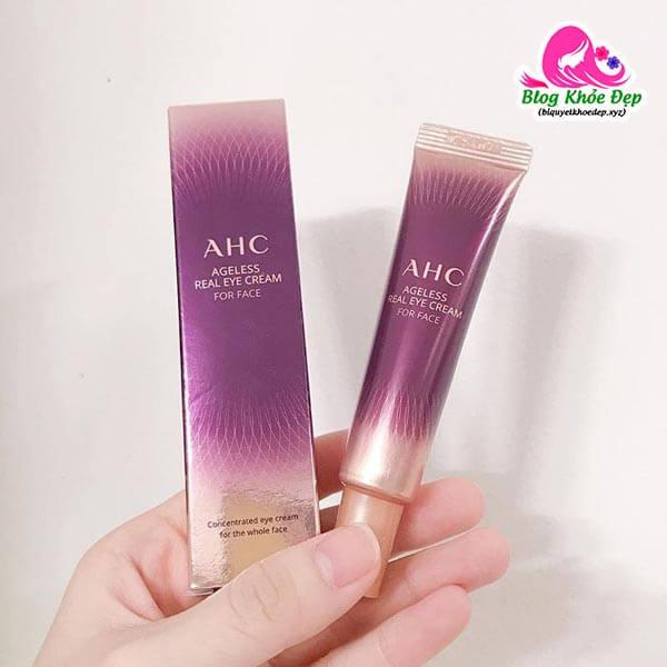 Kem trị bọng mắt AHC Ageless