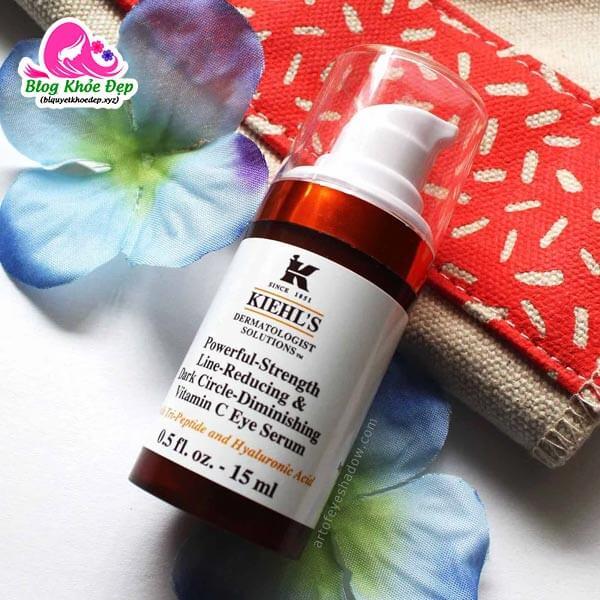 Review serum mắt Kiehl's Vitamin C