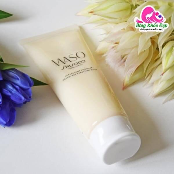 Kem tẩy tế bào chết cho da mụn Shiseido