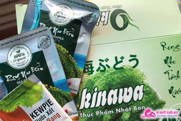 Review rong nho Okinawa có tốt không