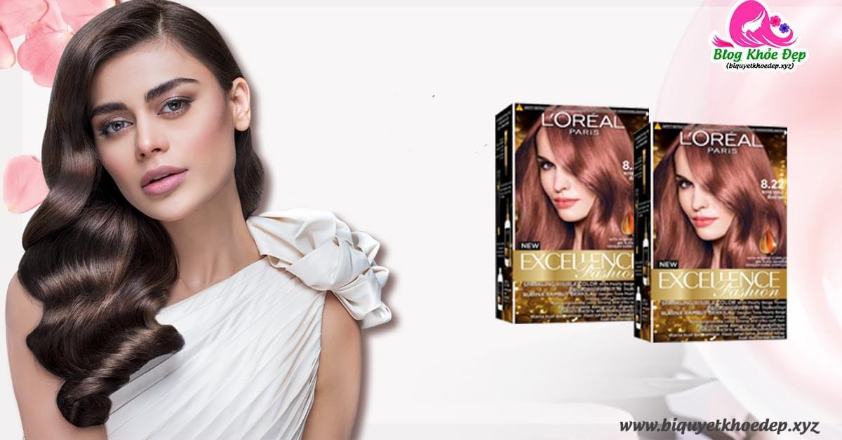 Review thuốc nhuộm tóc LOreal giá bao nhiêu