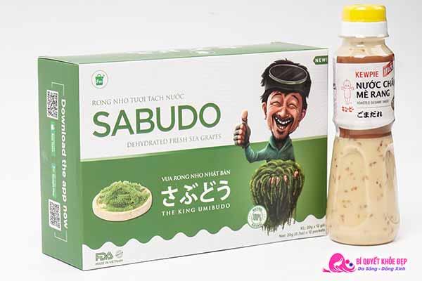 Rong nho tách nước Sabudo Nhật Bản