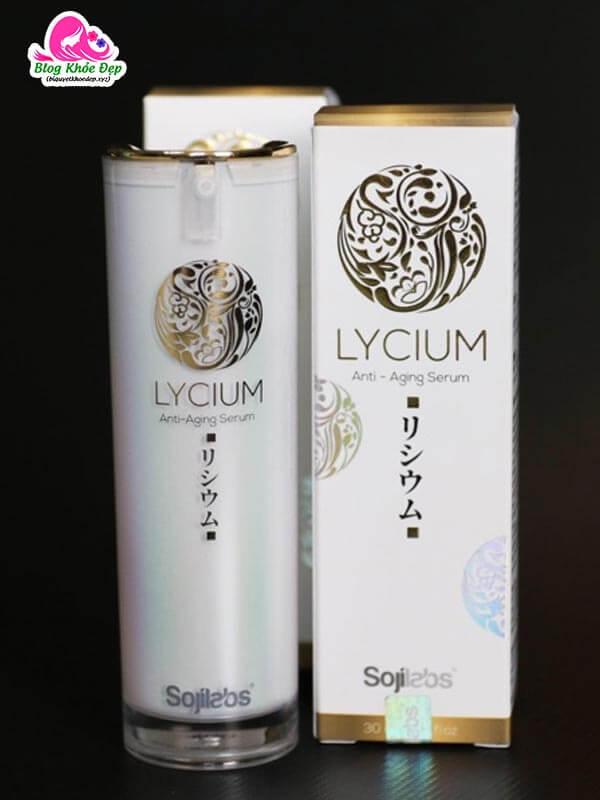Sản phẩm Lycium Serum chống lão hóa da