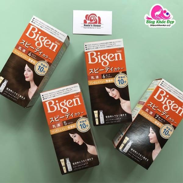 Thuốc nhuộm tóc Bigen là gì?