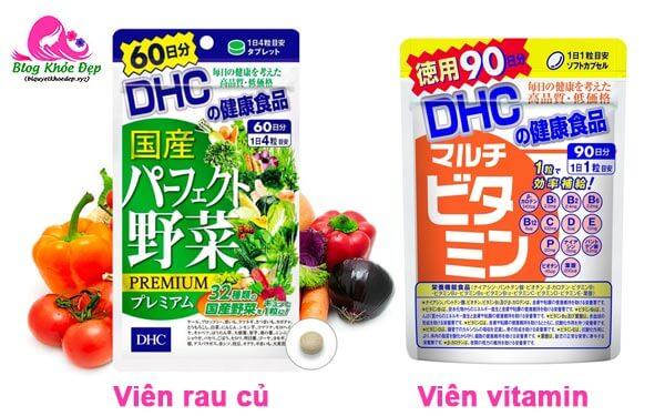 Cách sử dụng viên giảm cân DHC dầu dừa