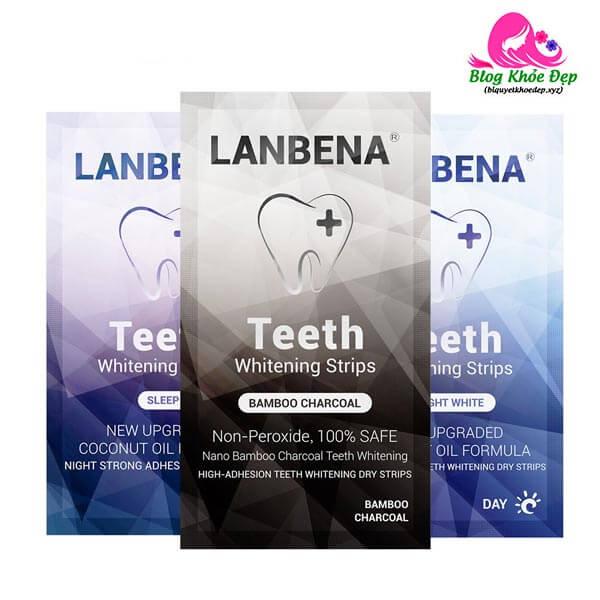 Miếng dán trắng răng giá rẻ Lanbena