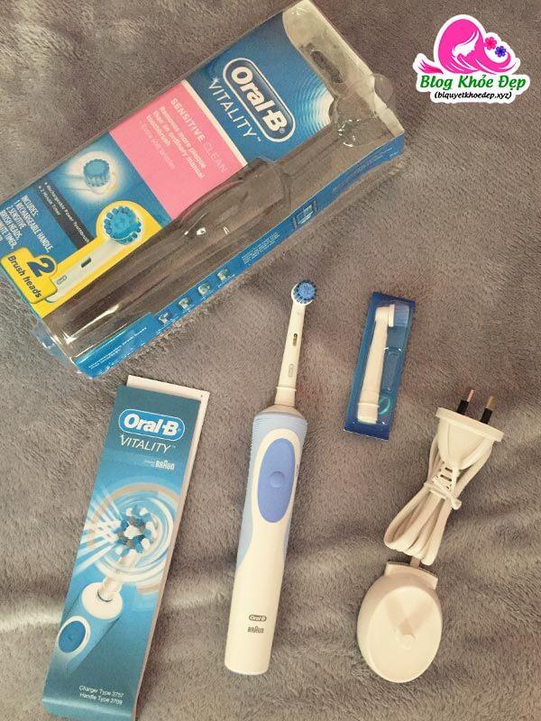 Review bàn chải điện Oral B