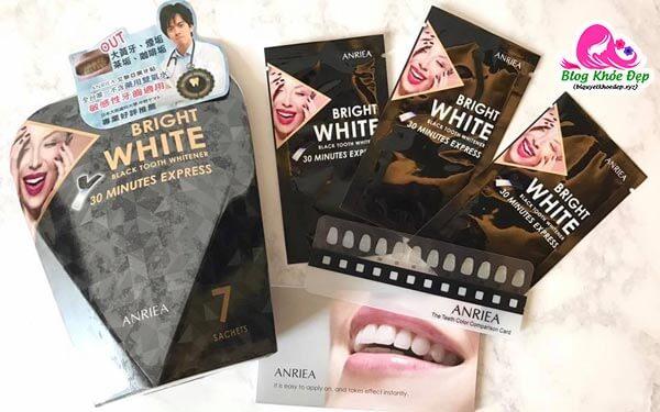 Review miếng dán trắng răng Anriea