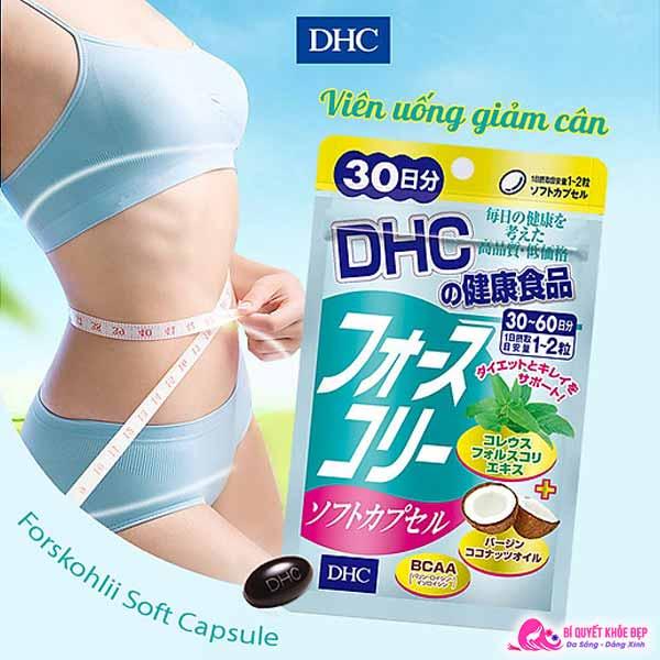 Viên uống giảm cân DHC có tốt không
