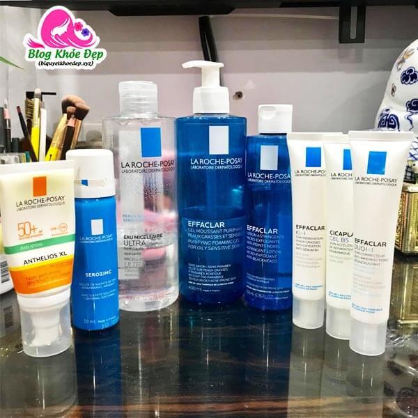 Các sản phẩm skincare cho da dầu mụn ẩn