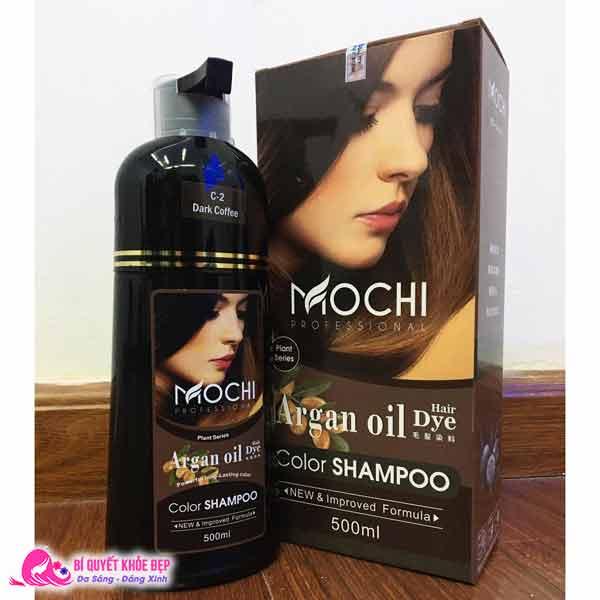 Dầu gội nhuộm tóc của Nhật Bản Mochi