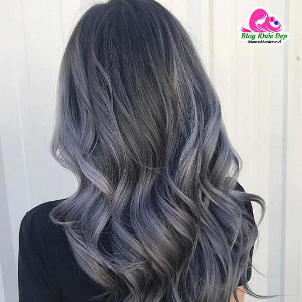 Tóc bạc nên nhuộm màu gì đẹp