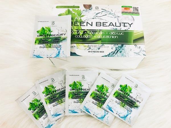 Bột cần tây collagen Green Beauty