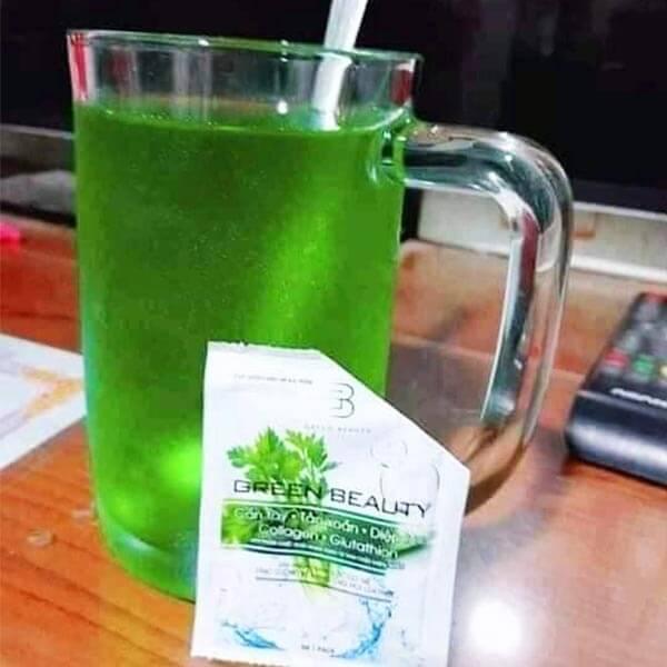 Cần tây collagen Green Beauty Review