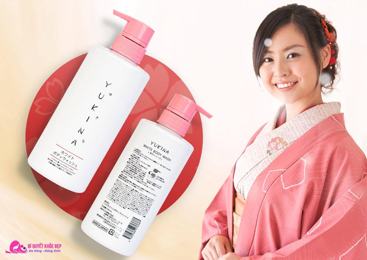 Sữa tắm trắng da Yukina có tốt không