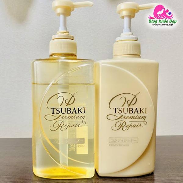 Review dầu gội trị rụng tóc Nhật Bản Tsubaki