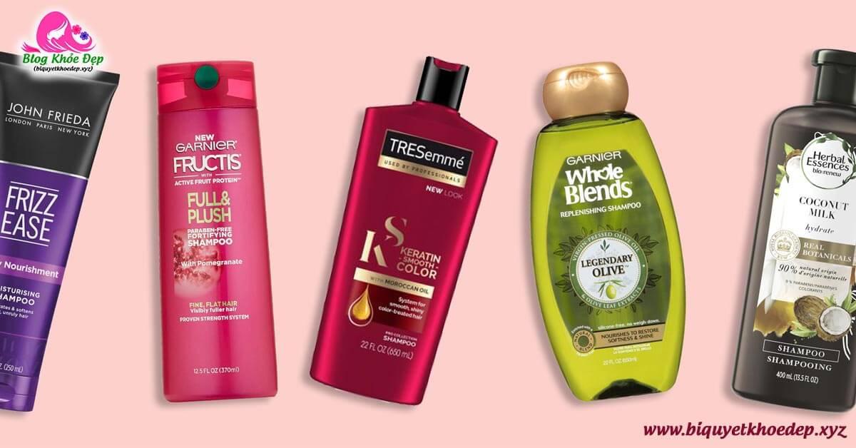 Review dầu gội trị rụng tóc sau sinh tốt nhất hiện nay