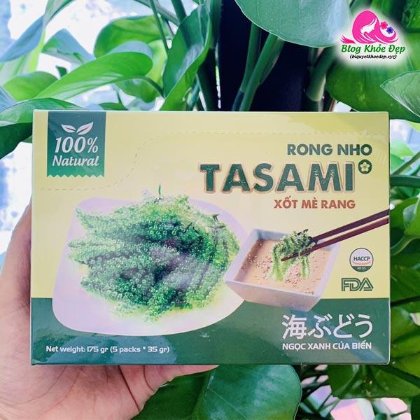 Review rong nho Tasami