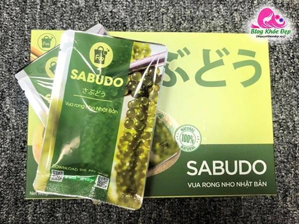 Rong nho Sabudo chính hãng giá bao nhiêu