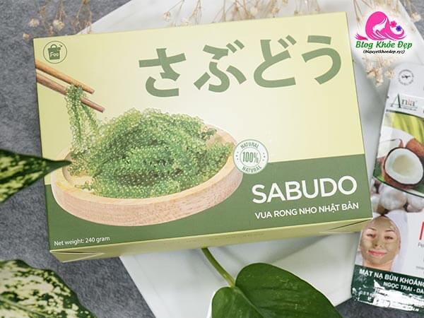 Rong nho Sabudo có tác dụng gì