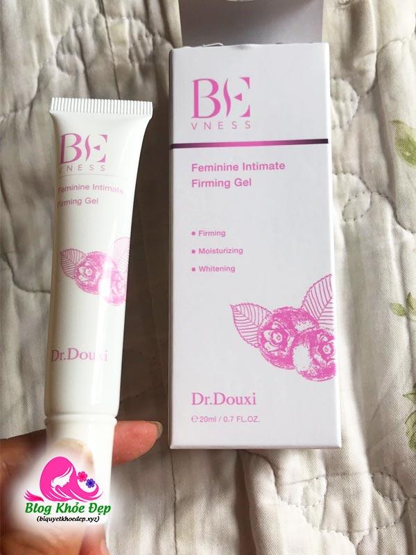 Review gel trắng hồng và se khít vùng kín Dr Douxi