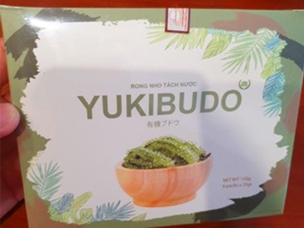 Review rong nho Yukibudo