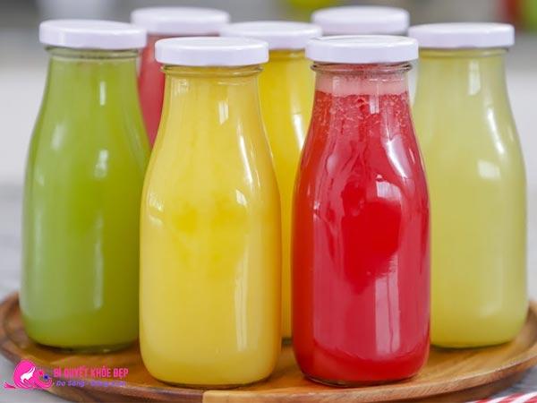 Bảo quản nước ép trái cây đúng cách