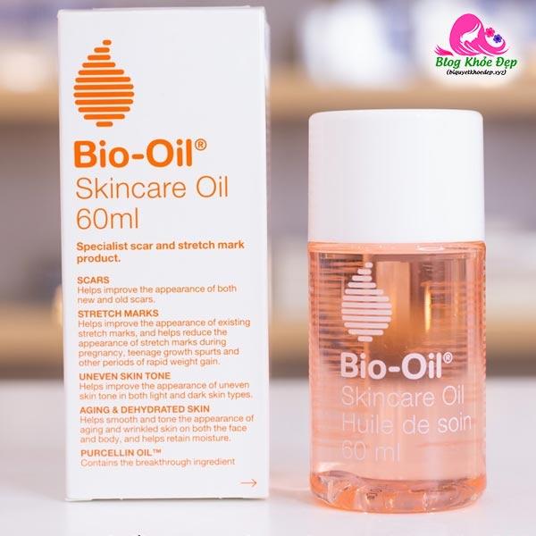 Review dầu trị rạn da Bio Oil