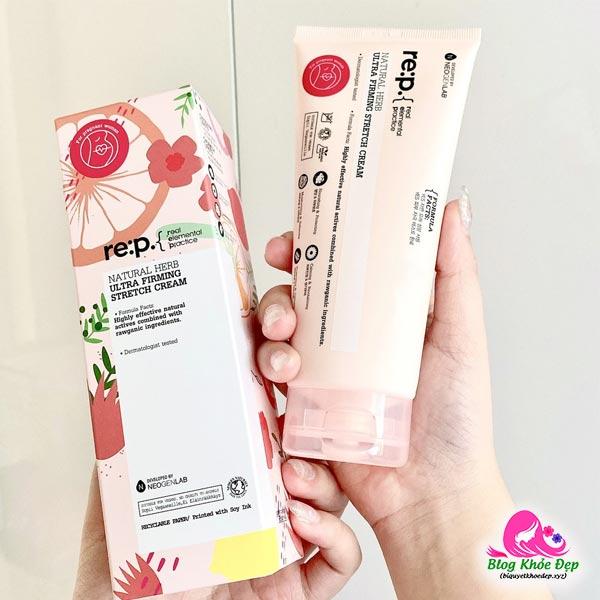 Kem trị rạn da an toàn Re:p của Hàn quốc