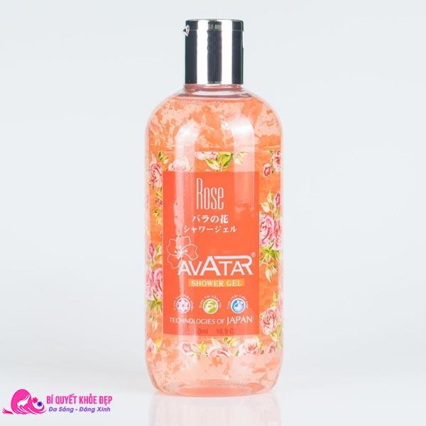 Sữa tắm trắng da hương nước hoa Rose Avatar